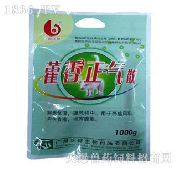 藿香正气散-用于外感风寒、内伤食滞、泄泻腹胀