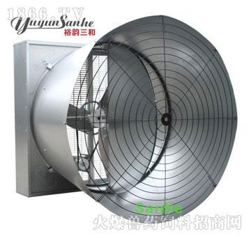 三和三叶双门式拢风筒风机