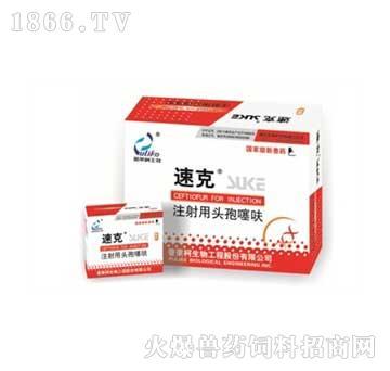 速克(头孢噻呋冻干粉注射剂)-主治猪副嗜血杆菌病、传染性胸膜肺炎
