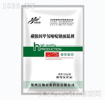 磺胺间甲氧嘧啶钠预混剂