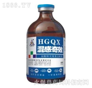 混感奇效-主治痘病毒、温和型猪瘟、咳嗽、喘气、张口呼吸