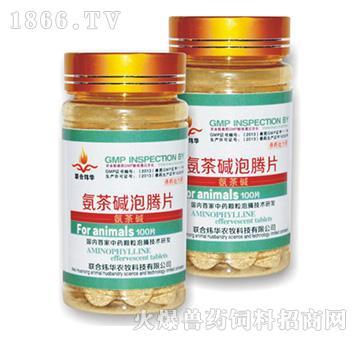 氨茶碱泡腾片―缓解支气管黏膜水肿,气喘痉挛