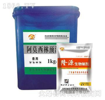 阿莫西林预混剂-主治猪的呼吸道病、子宫内膜炎