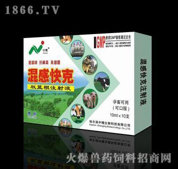 混感快克-用于畜禽病毒性感染、细菌性感染