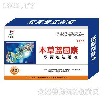 本草蓝圆康-杀菌、清热解毒、退烧开胃、消炎消肿