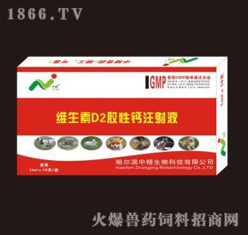 维生素D2胶性钙注射液