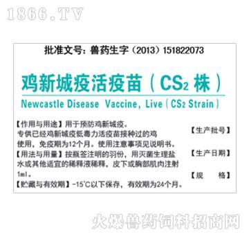 鸡新城疫活疫苗(CS2株)-预防鸡新城疫