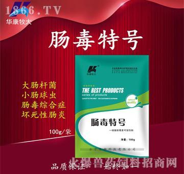 肠毒特号-肠毒综合症的克星、坏死性肠炎专用药