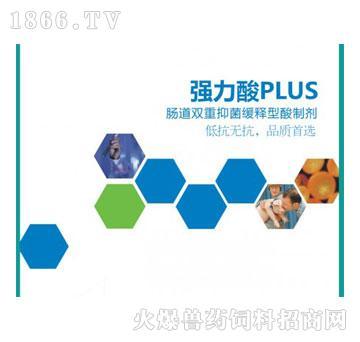 强力酸PLUS-抑制有害菌的生长,保护畜禽肠道健康