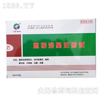 恩诺沙星注射液-主治传染性胃肠炎、流行性腹泻、痢疾