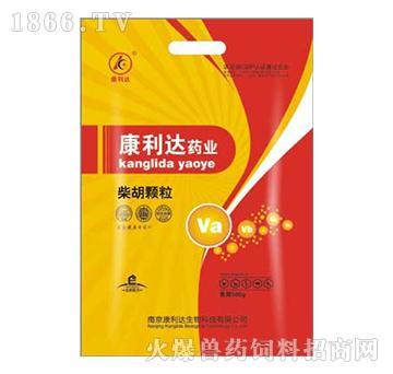 柴胡颗粒-主治高热不退、伤寒热症、腹泻、痢疾、咳嗽、呼吸困难