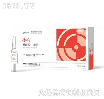 体抗-用于治疗家畜流感、仔猪白痢、肺炎及某些发热性疾患