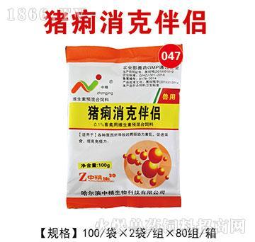 猪痢消克伴侣-用于各位原因所导致的胃肠动力紊乱,促进采食
