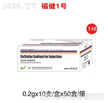 福健1号-主治菌毒重症感染和禽的大肠杆菌、沙门氏菌