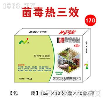 菌毒热三效-主治高热,高烧,体温持续不退,无名高热