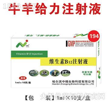 牛羊给力-维生素B12注射液,增强健康动物的抵抗力、促进幼畜生长