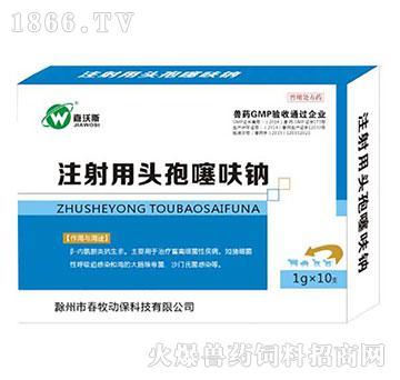 注射用头孢噻呋钠-用于治疗畜禽细菌性疾病