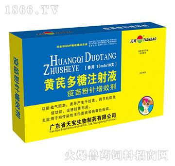 黄芪多糖注射液-用于鸡传染性法氏囊病等病毒性疾病