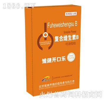 雏健开口乐-防治雏禽的大肠杆菌、沙门氏菌脐炎、脐孔闭合不良
