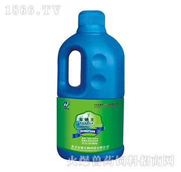 金碘王-防腐消毒药