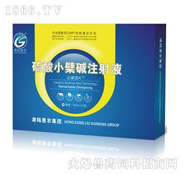 硫酸小檗碱注射液-止痢安A