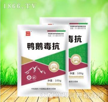鸭鹅毒抗-清热解毒、扶正固本、益气健脾、调节免疫