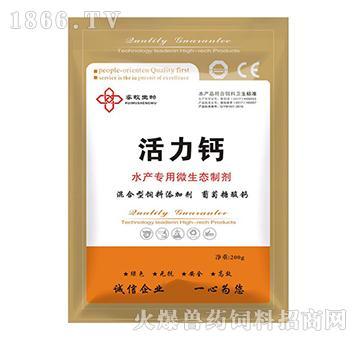 活力钙-钙质补充剂及钙质吸收促进剂