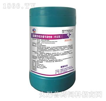 杆立克-用于治疗禽顽固性大肠杆菌、沙门氏菌等细菌疾病引起的心包炎、肝周炎