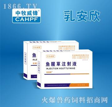 乳安欣-主治肺痈,痢疾,乳痈,淋浊