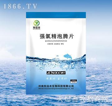 强氯精泡腾片-净化水体、改底、除臭、改良水质