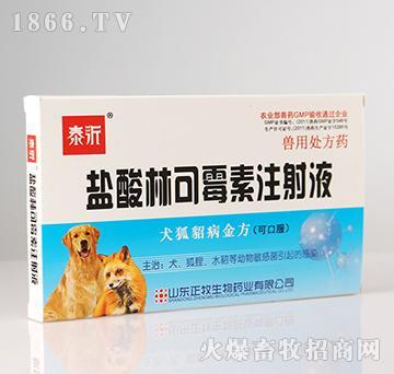 盐酸林可霉素注射液(犬狐貂病金方)