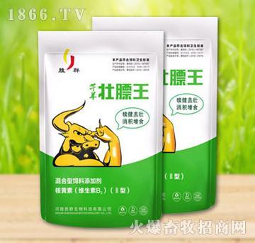 牛羊壮膘王-促进牛羊消食开胃,提高食欲,后期催肥效果尤其显著