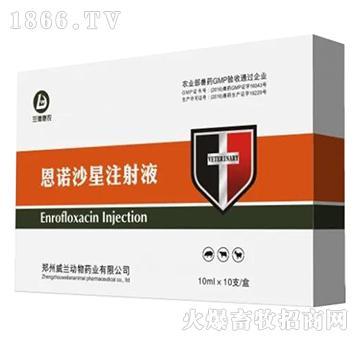(中牧惠华)恩诺沙星注射液-主治畜禽细菌性、生理性肠道疾病