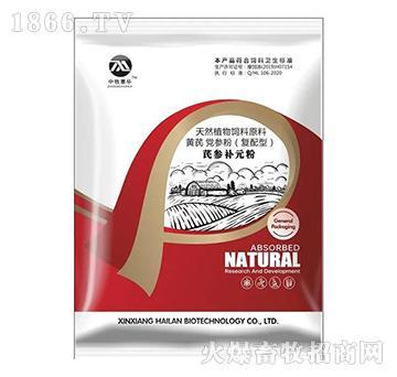 (中牧惠华)芪参补元粉(发酵)-是普通黄芪功效的10-30倍