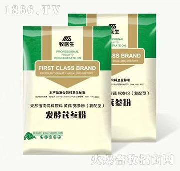 发酵芪参粉-提升机体活 力提高抗病能力