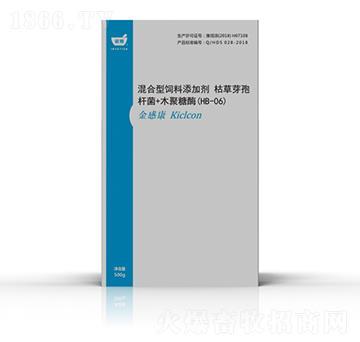 金感康-混合型�料添加�� 枯草芽孢�U菌+木聚糖酶(HB-06)