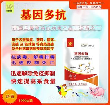 基因多抗(精品)――专注养殖难题、打开健康养殖通道