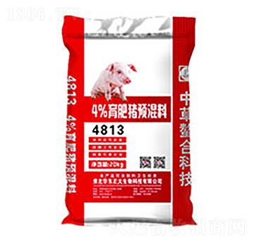 4%育肥猪预混料 4813