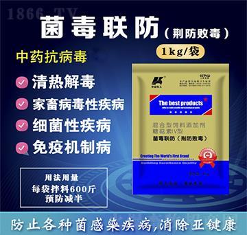 菌毒联防(荆防败毒)-清热解毒、辛温解表、疏风祛湿、扶正祛邪